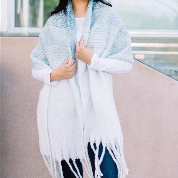 mer-sea Accessories - Mer-Sea teal cozy scarf